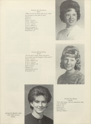 Page 15, 1965 Edition, Thomson High School - Sand Burr Yearbook (Thomson, IL) online yearbook collection