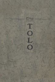 Page 1, 1923 Edition, Toulon Township High School - Tolo Yearbook (Toulon, IL) online yearbook collection