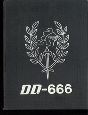 Page 1, 1962 Edition, Black (DD 666) - Naval Cruise Book online yearbook collection