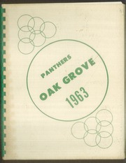 Oak Grove Elementary School - Yearbook (Kansas City, KS) online yearbook collection, 1963 Edition, Page 1