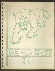 Oak Grove Elementary School - Yearbook (Kansas City, KS) online yearbook collection, 1964 Edition, Page 1
