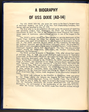 Page 4, 1967 Edition, Dixie (AD 14) - Naval Cruise Book online yearbook collection