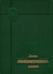 1936 Edition, Greensburg High School - Green and Gold Yearbook (Greensburg, KY)