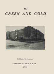 1943 Edition, Greensburg High School - Green and Gold Yearbook (Greensburg, KY)