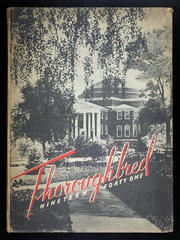 1941 Edition, University of Louisville Arts and Sciences - Thoroughbred Yearbook (Louisville, KY)