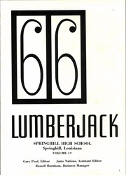 Page 5, 1966 Edition, Springhill High School - Lumberjack Yearbook (Springhill, LA) online yearbook collection
