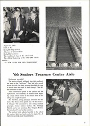 Page 7, 1966 Edition, Springhill High School - Lumberjack Yearbook (Springhill, LA) online yearbook collection
