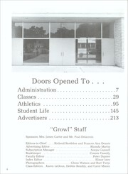 Page 6, 1972 Edition, Jennings High School - Bulldogs Growl Yearbook (Jennings, LA) online yearbook collection