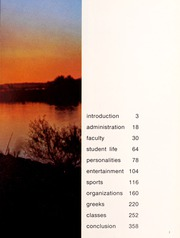 Page 7, 1971 Edition, Northwestern State University - Potpourri Yearbook (Natchitoches, LA) online yearbook collection
