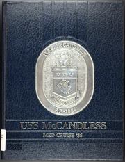 1986 Edition, McCandless (FF 1084) - Naval Cruise Book