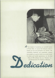 Page 10, 1940 Edition, Forest Park High School - Forester Yearbook (Baltimore, MD) online yearbook collection
