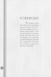 Page 6, 1939 Edition, University of Montana Western - Chinook Yearbook (Dillon, MT) online yearbook collection