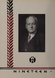 Page 10, 1932 Edition, Worcester Polytechnic Institute - Peddler Yearbook (Worcester, MA) online yearbook collection