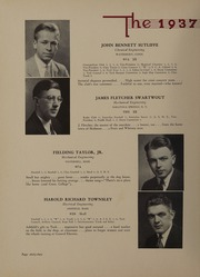 Page 64, 1937 Edition, Worcester Polytechnic Institute - Peddler Yearbook (Worcester, MA) online yearbook collection