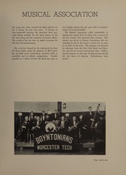 Page 93, 1937 Edition, Worcester Polytechnic Institute - Peddler Yearbook (Worcester, MA) online yearbook collection