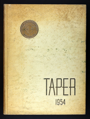 Page 1, 1954 Edition, American International College - Taper Yearbook (Springfield, MA) online yearbook collection
