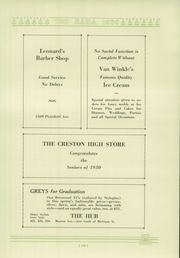 Page 113, 1930 Edition, Creston High School - Saga Yearbook (Grand Rapids, MI) online yearbook collection