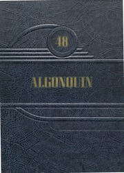 1948 Edition, Algonac High School - Algonquin Yearbook (Algonac, MI)