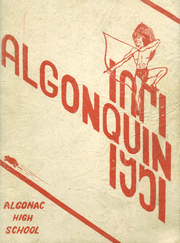 1951 Edition, Algonac High School - Algonquin Yearbook (Algonac, MI)