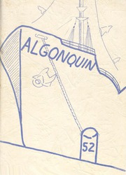 1952 Edition, Algonac High School - Algonquin Yearbook (Algonac, MI)