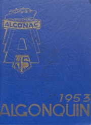 1953 Edition, Algonac High School - Algonquin Yearbook (Algonac, MI)