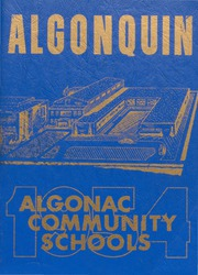 1954 Edition, Algonac High School - Algonquin Yearbook (Algonac, MI)