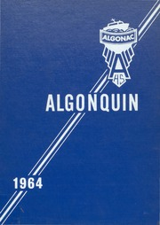 1964 Edition, Algonac High School - Algonquin Yearbook (Algonac, MI)