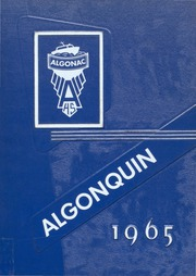 1965 Edition, Algonac High School - Algonquin Yearbook (Algonac, MI)