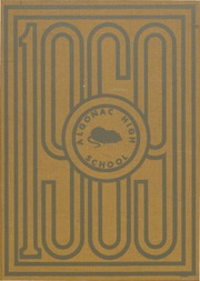 1969 Edition, Algonac High School - Algonquin Yearbook (Algonac, MI)