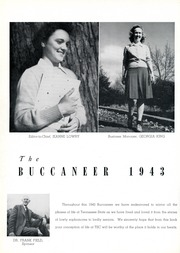 Page 14, 1943 Edition, East Tennessee State University - Buccaneer Yearbook (Johnson City, TN) online yearbook collection