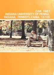 Page 5, 1981 Edition, Indiana University of Pennsylvania - Oak Yearbook / INSTANO Yearbook (Indiana, PA) online yearbook collection