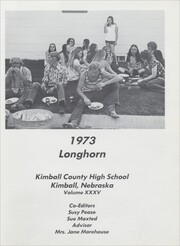 Page 5, 1973 Edition, Kimball County High School - Longhorn Yearbook (Kimball, NE) online yearbook collection