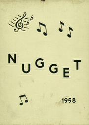 Page 1, 1958 Edition, Butler High School - Nugget Yearbook (Butler, NJ) online yearbook collection