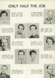 Page 17, 1958 Edition, Butler High School - Nugget Yearbook (Butler, NJ) online yearbook collection