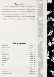 Page 6, 1962 Edition, Boyden High School - Echo Yearbook (Salisbury, NC) online yearbook collection
