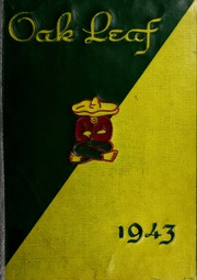 1943 Edition, Hugh Morson High School - Oak Leaf Yearbook (Raleigh, NC)