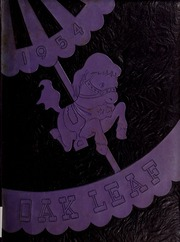 1954 Edition, Hugh Morson High School - Oak Leaf Yearbook (Raleigh, NC)