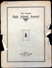 Creston High School - Annual Yearbook (Creston, OH) online yearbook collection, 1908 Edition, Page 1