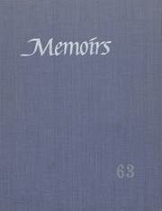 1963 Edition, Grant High School - Memoirs Yearbook (Portland, OR)