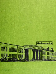 1965 Edition, Grant High School - Memoirs Yearbook (Portland, OR)