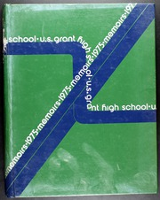 1975 Edition, Grant High School - Memoirs Yearbook (Portland, OR)