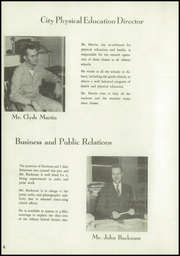 Page 14, 1951 Edition, Albany Union High School - Whirlwind Yearbook (Albany, OR) online yearbook collection