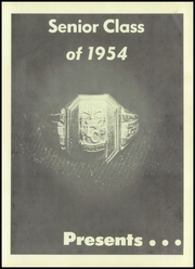 Page 5, 1954 Edition, Ford City High School - Trireme Yearbook (Ford City, PA) online yearbook collection