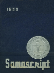 St Matthews High School - Samascript Yearbook (Conshohocken, PA) online yearbook collection, 1955 Edition, Page 1