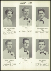 Page 31, 1957 Edition, St Matthews High School - Samascript Yearbook (Conshohocken, PA) online yearbook collection