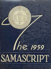 Page 1, 1959 Edition, St Matthews High School - Samascript Yearbook (Conshohocken, PA) online yearbook collection