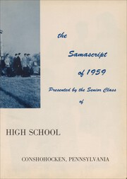 Page 7, 1959 Edition, St Matthews High School - Samascript Yearbook (Conshohocken, PA) online yearbook collection