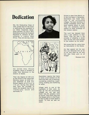 Page 12, 1975 Edition, Manna Bible Institute - Sower Yearbook (Philadelphia, PA) online yearbook collection