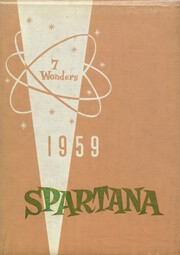 1959 Edition, Spartanburg High School - Spartana Yearbook (Spartanburg, SC)
