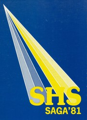 1981 Edition, Spartanburg High School - Spartana Yearbook (Spartanburg, SC)